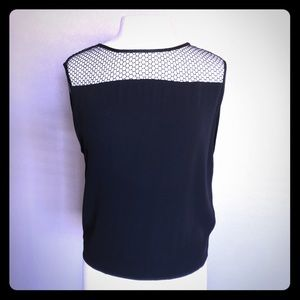 Helmut Lang Tank With Net Accent Size S
